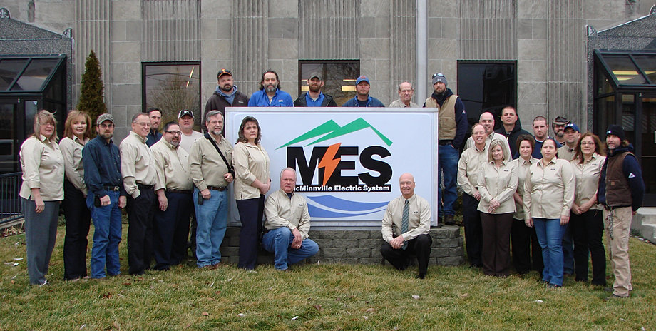 MES Employees 75th Year