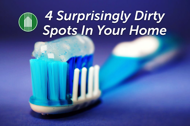 4 surprisingly dirty spots in your home | mcnair custom homes