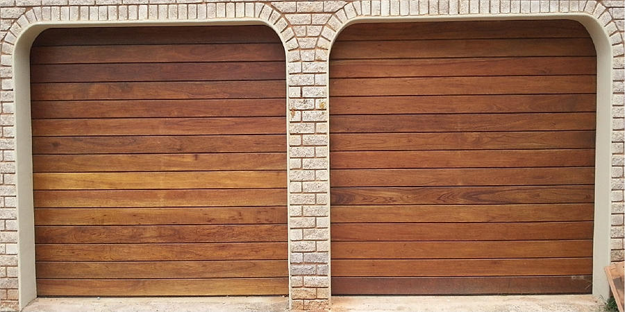 Horizontal Statted Garage Door & Purpose made doors | Garage door durban
