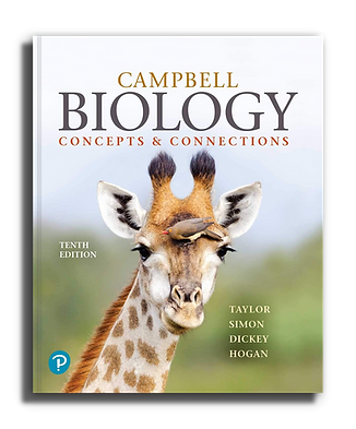 Campbell biology concepts and connections book cover by Martha R. Taylor; Eric J. Simon; Jean L. Dickey; Kelly A. Hogan; Jane B. Reece