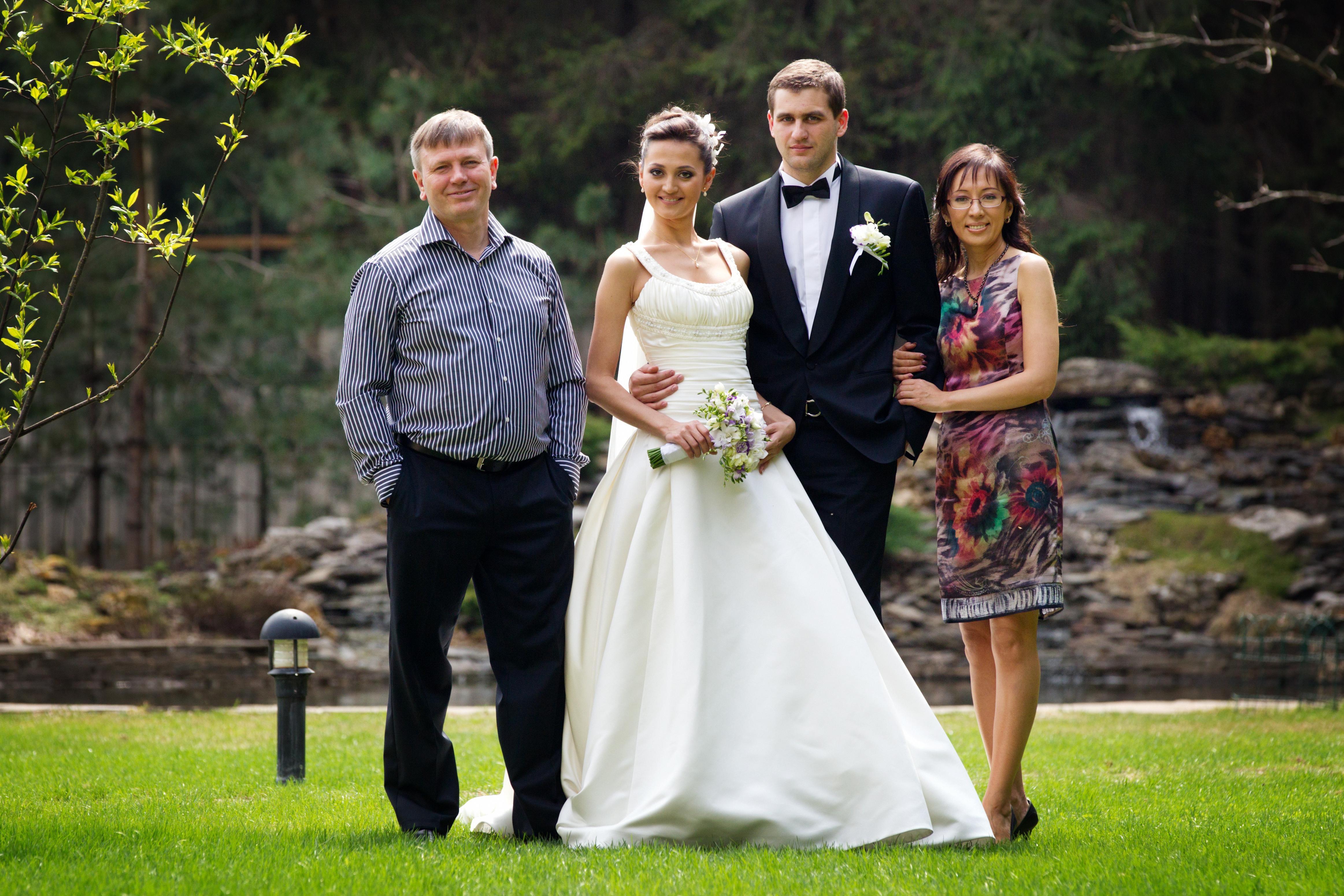 В чем одеть детей на свадьбу фото