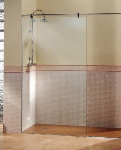 Duchas con puertas de vidrio puertas de duchas con diseo - Cristales para banos ...