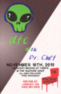 16 NOV MACHINE SHOP DFC DR CHEF CONCERT