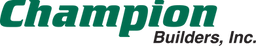 Champion Builders Official Logo