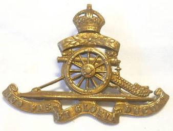RA Volunteers Cap Badge