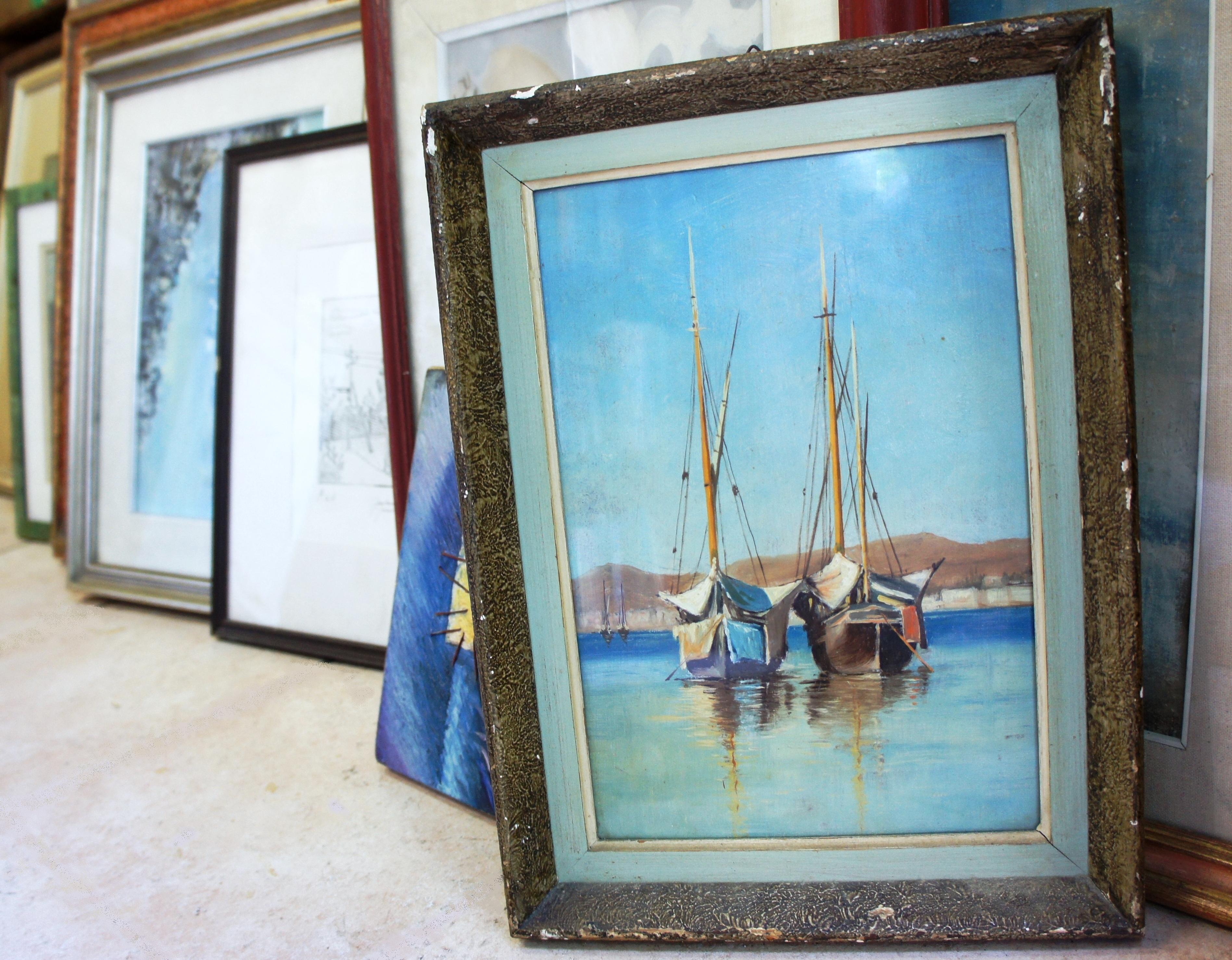 Rigattiere bruno dipinti for Compro quadri moderni