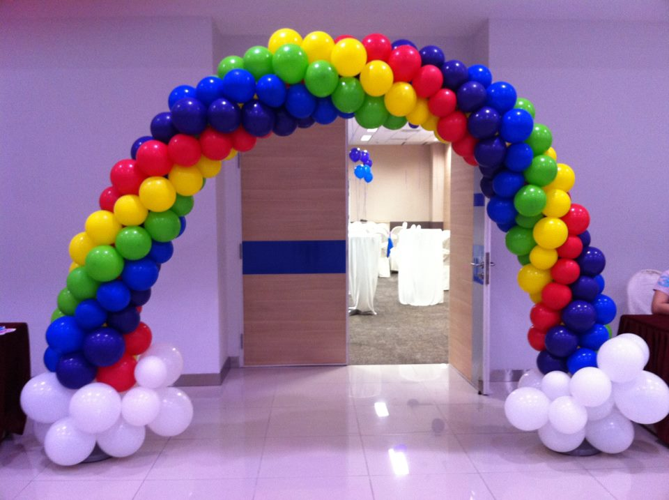 Partyz balloons balloon decoration delivery and party for Balloon arch decoration kit