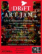 Version 2 Drift Art Jam4 Event Poster (1