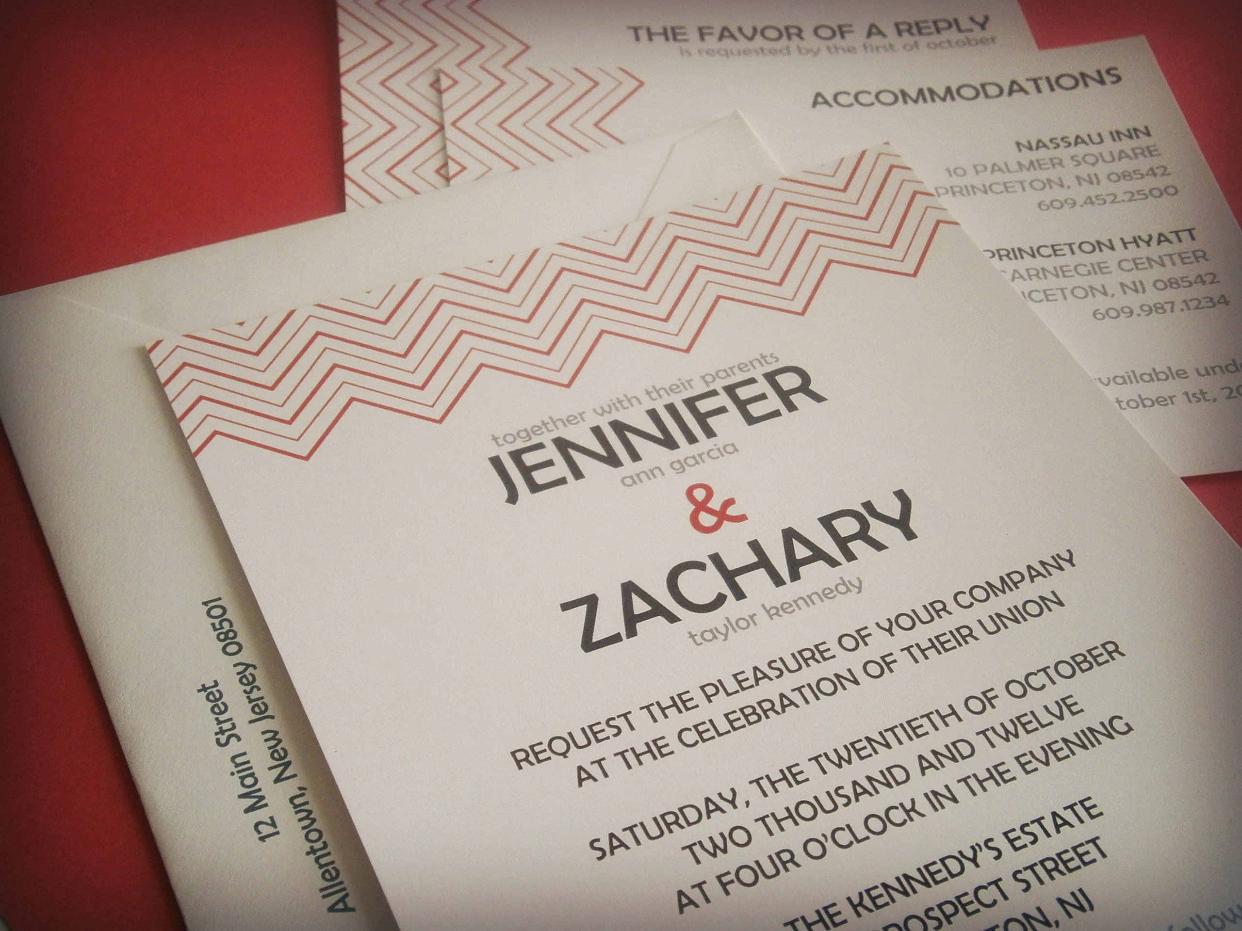 White Orchid Graphics   Wedding Invitations   New Jersey