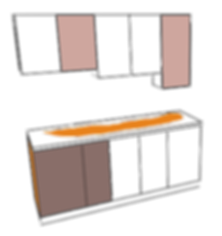Cabinets dimensions