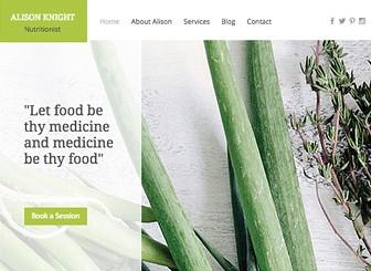 스마트 다이어트 홈페이지 Template - 건강한 첫인상의 '스마트 다이어트 홈페이지' 템플릿을 만나보세요. 다양한 건강식단 및 요법을 블로그로 공유하고, 멋진 이미지 및 동영상을 추가하세요.