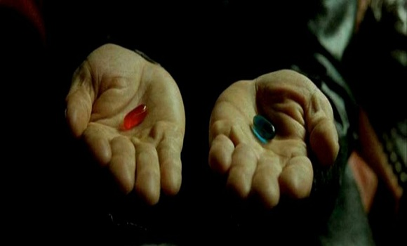 Image result for red pill matrix