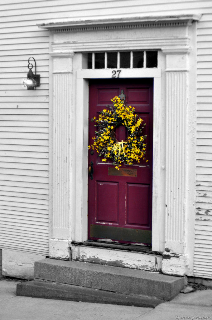 red door at 27