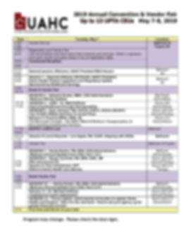2019.04.22.UAHCconvAdvance Agenda.Tues.j