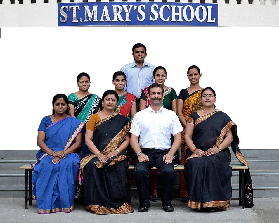 St. Mary's School Dahod   STAFF