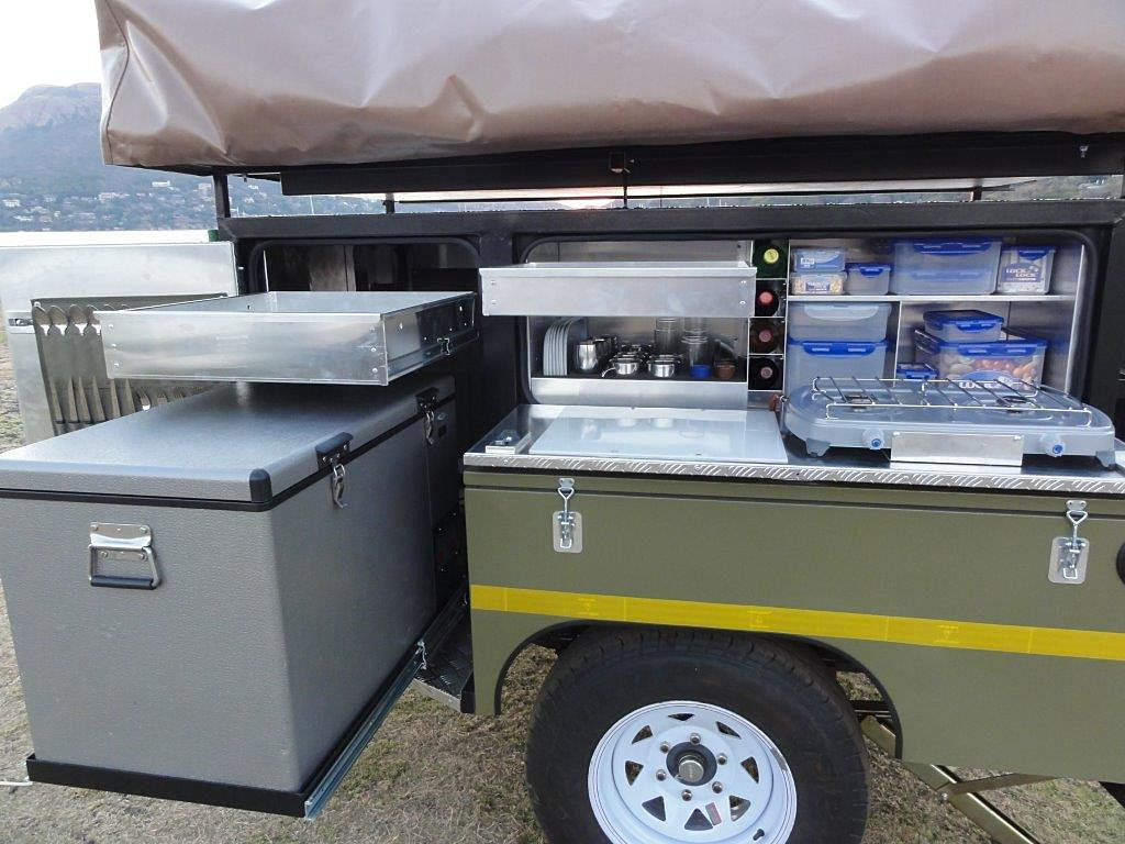 Bundu Offroad 4x4 Camping Trailers Open Kitchen
