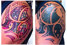 Custom coverup tattoo