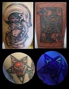 Tattoo Work by John Joker Mcmanus