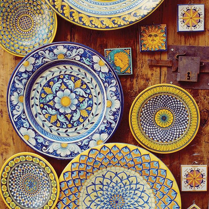 Coisas de v diferen as entre lou a cer mica faian a e for Como pintar jarrones de ceramica