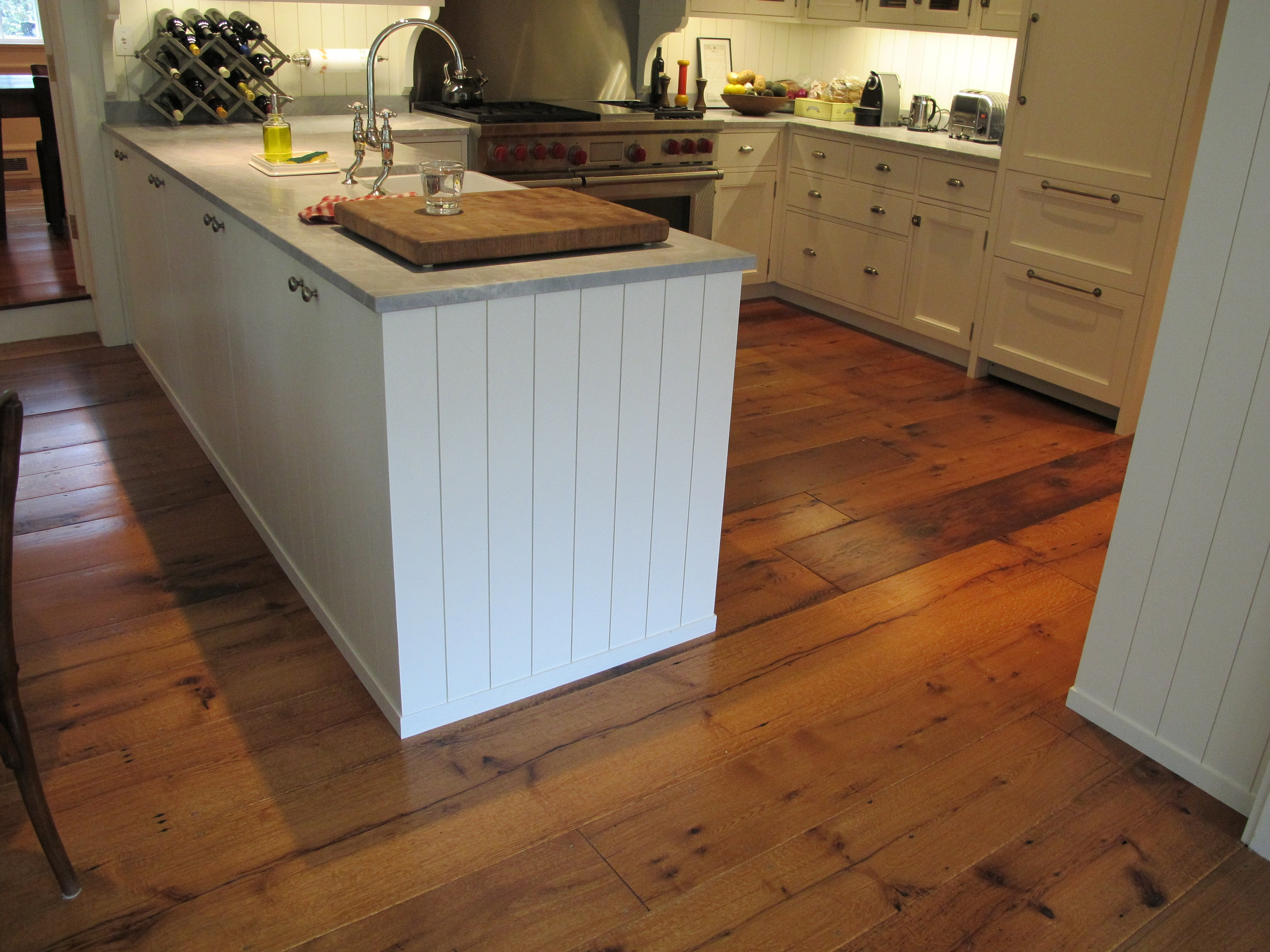Chestnut Wood Working and Antique Flooring | kitchen pic