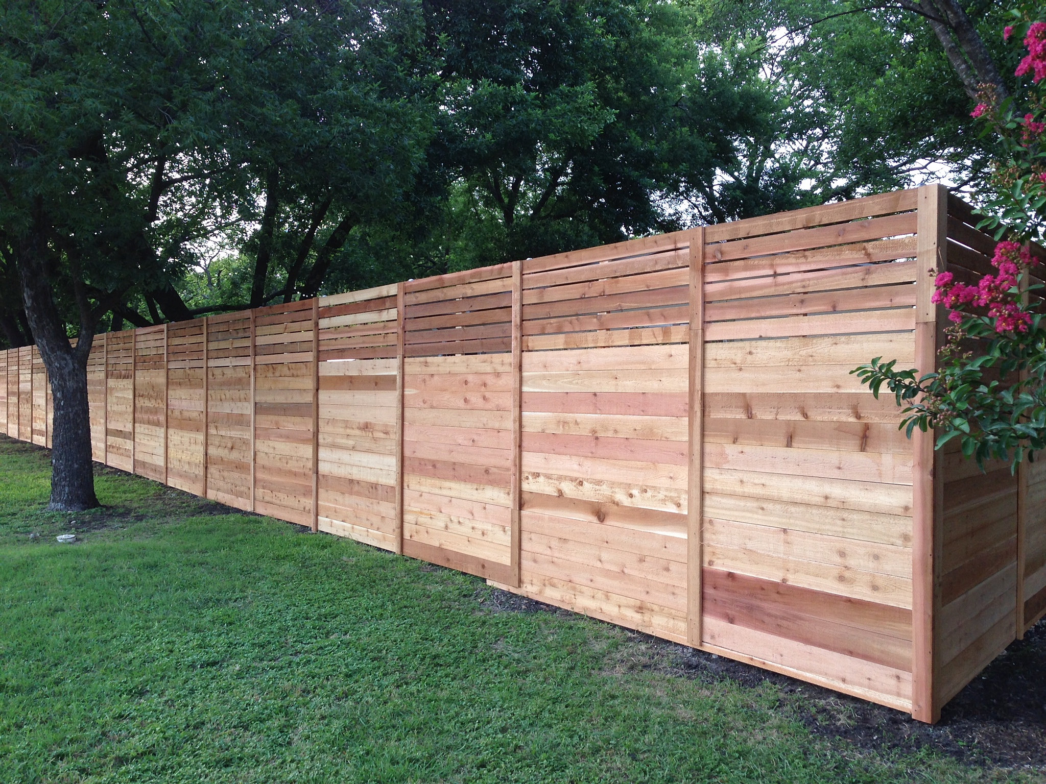 Image Result For Wooden Fence Installation