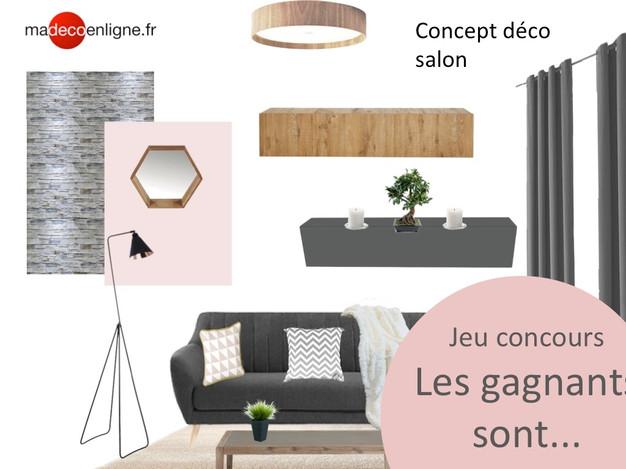 les gagnants du jeu concours d co planche d co personnalis e sont architecture et. Black Bedroom Furniture Sets. Home Design Ideas