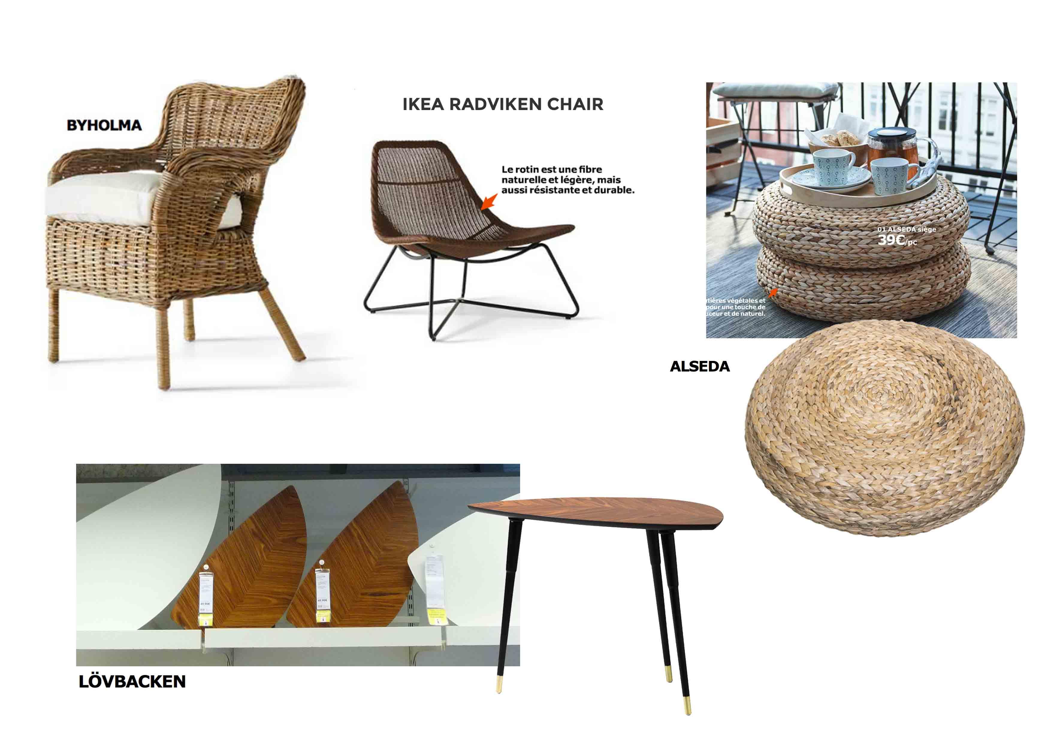 d tendez vous dans une ambiance nature chez ikea architecture et d coration d 39 int rieur 100. Black Bedroom Furniture Sets. Home Design Ideas