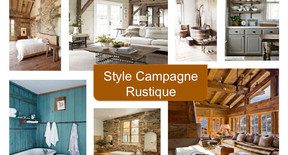 Styl campagne rustique