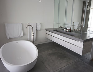 Concrete Bathrooms Concrete Bathroom