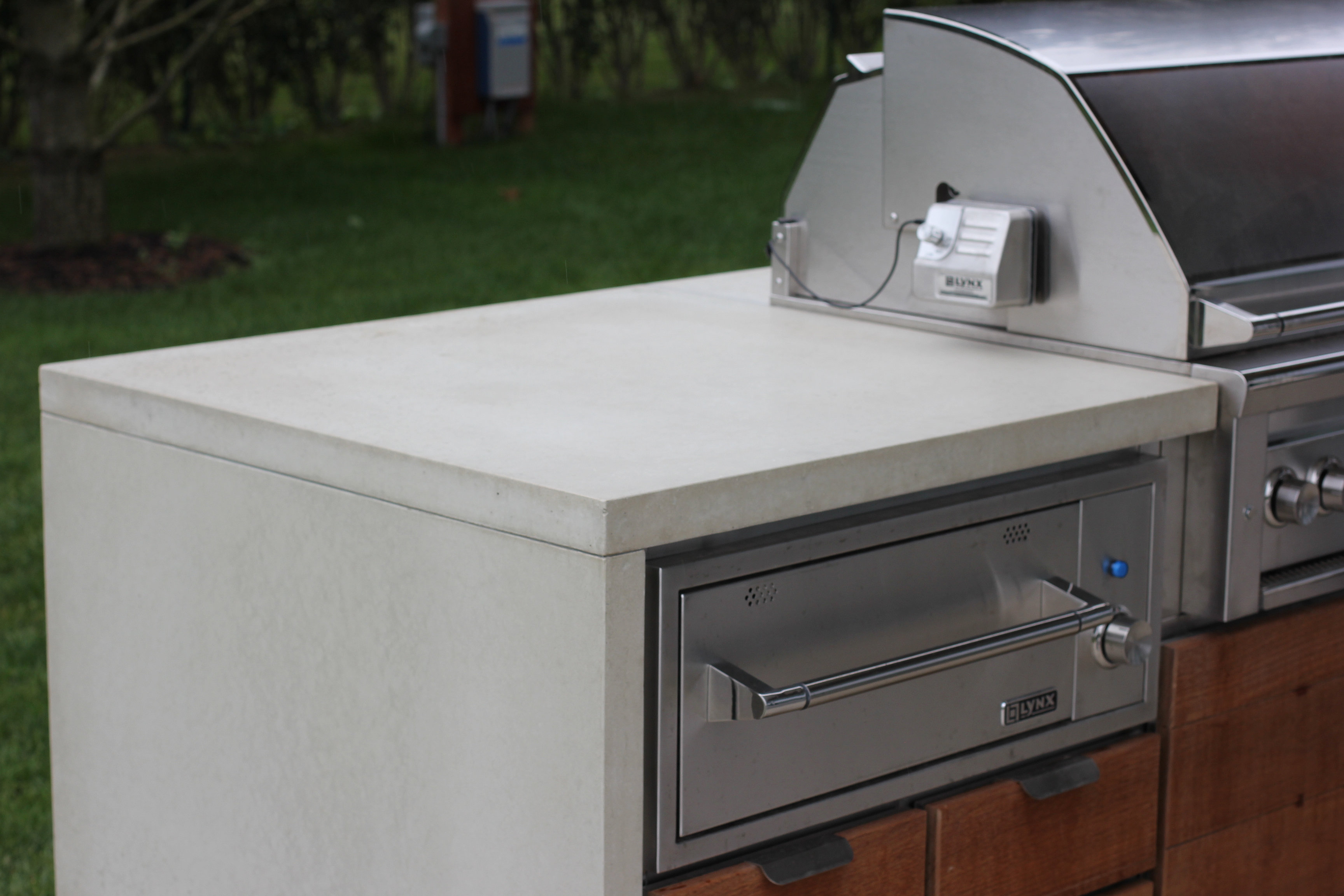 Outdoor Kitchen Countertop Concrete Shop Llc Polished Concrete Products Outdoor Kitchen
