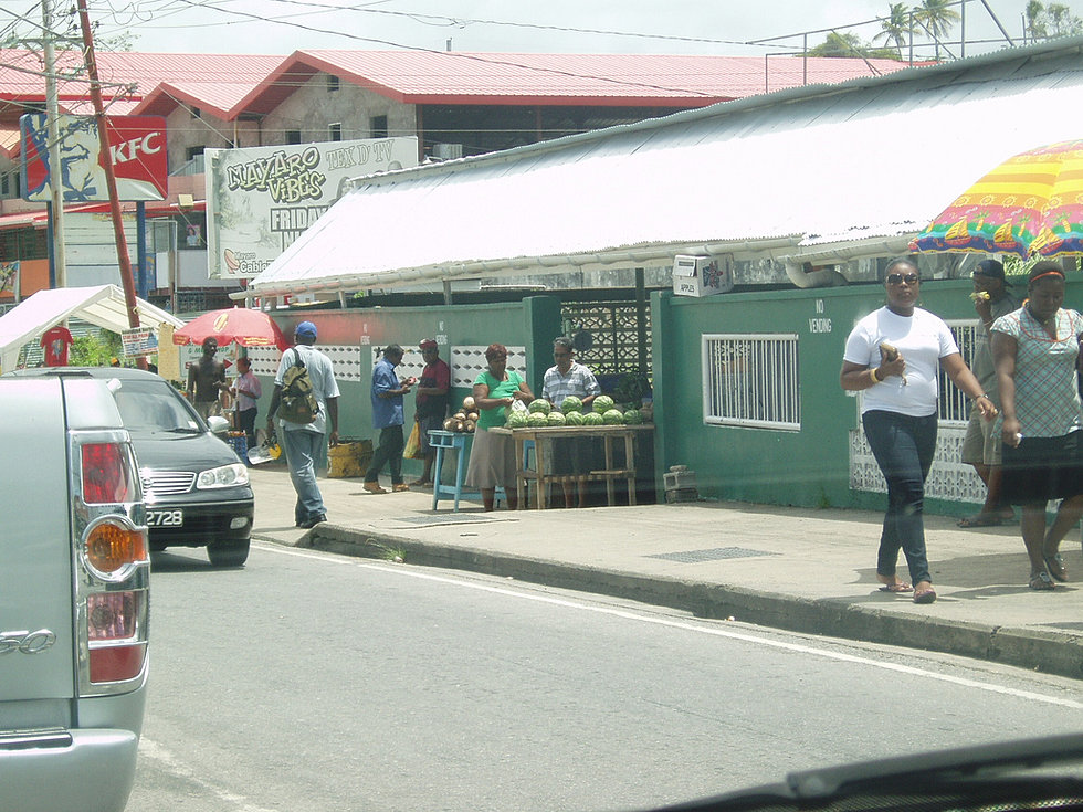 The Mayaro Market
