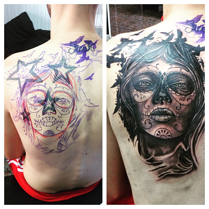 Blood brothers tattoos and piercings studio ayia napa cyprus for Tattoo for dead brother