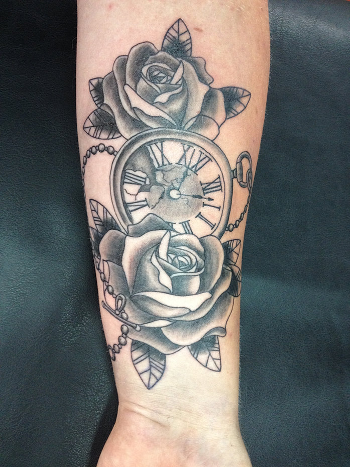 Blood brothers tattoos and piercings studio ayia napa cyprus for Time piece tattoos