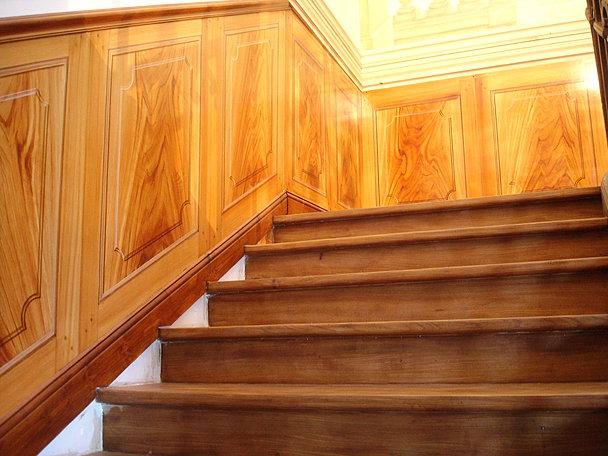 trompe l 39 oeil gers atelier k trompe l 39 oeil peinture de d cor trompe l 39 oeil. Black Bedroom Furniture Sets. Home Design Ideas