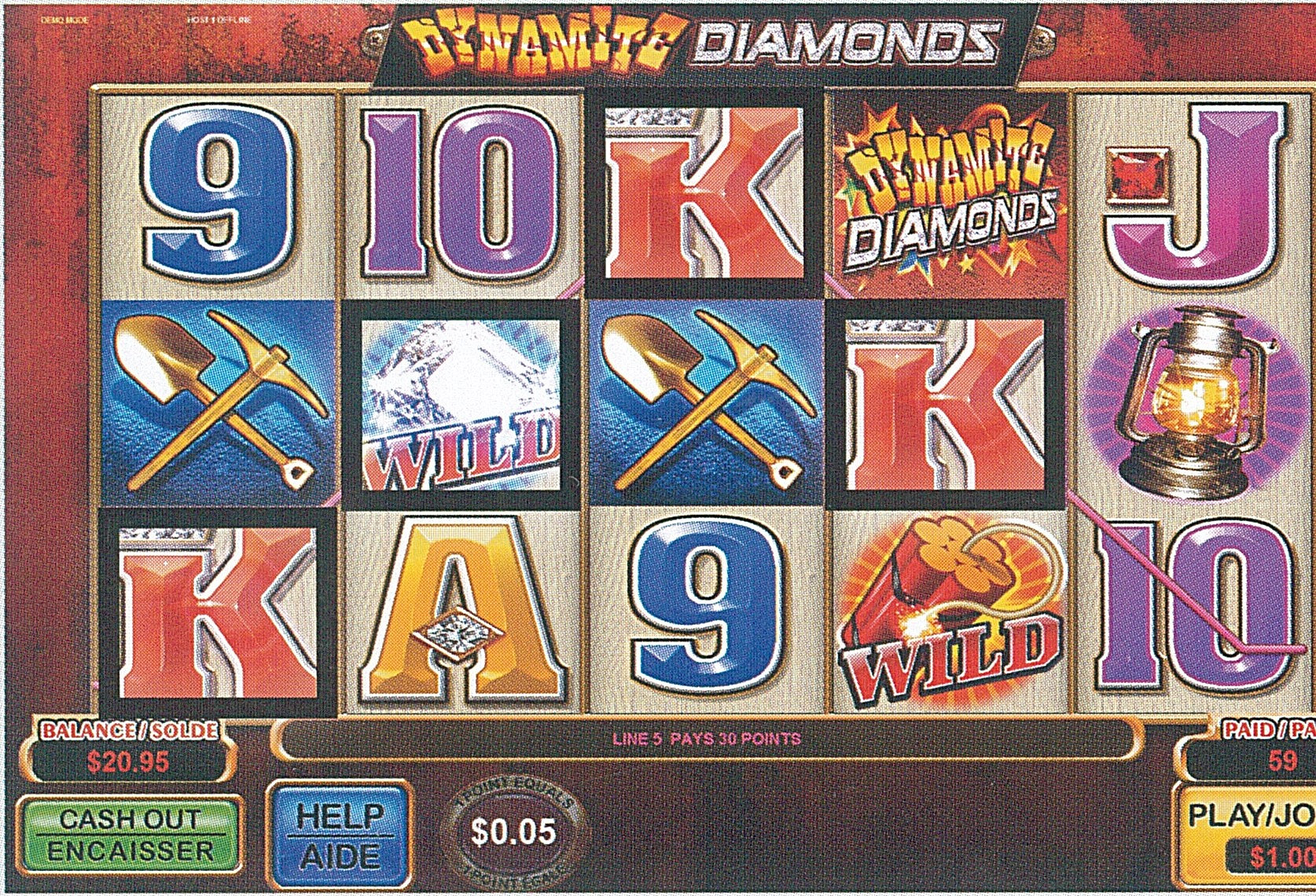 dynamite bingo