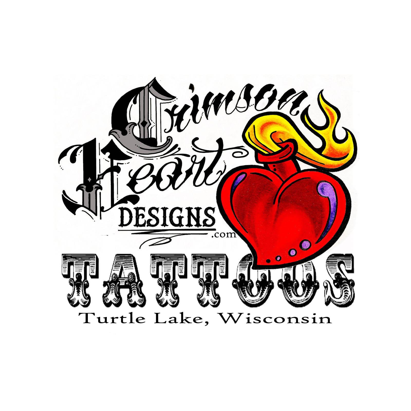 crimson heart designs tattoo piercing studio wisconsin. Black Bedroom Furniture Sets. Home Design Ideas