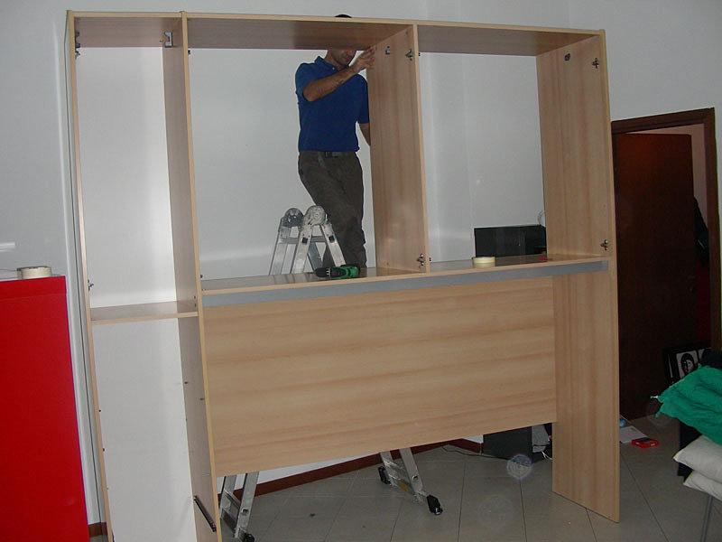 Montaggio mobili milano e servizi per la casa servizipi montaggio cameretta a ponte 1 - Istruzioni montaggio mobili mondo convenienza ...
