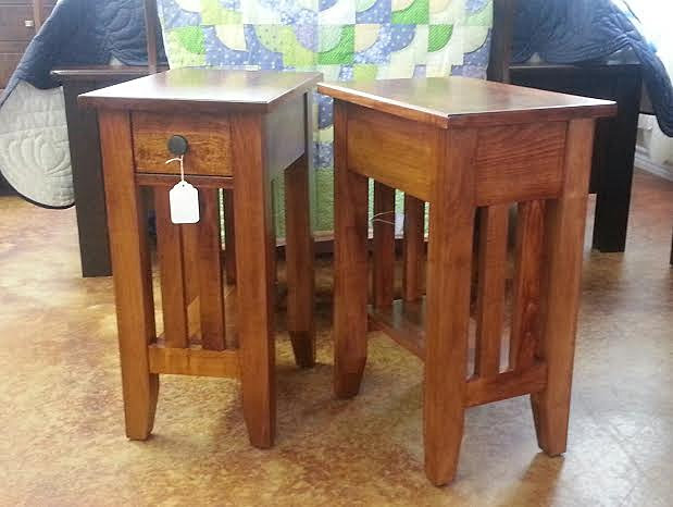 Amish market fredericksburg l r small end tables for Table 6a of gstr 1