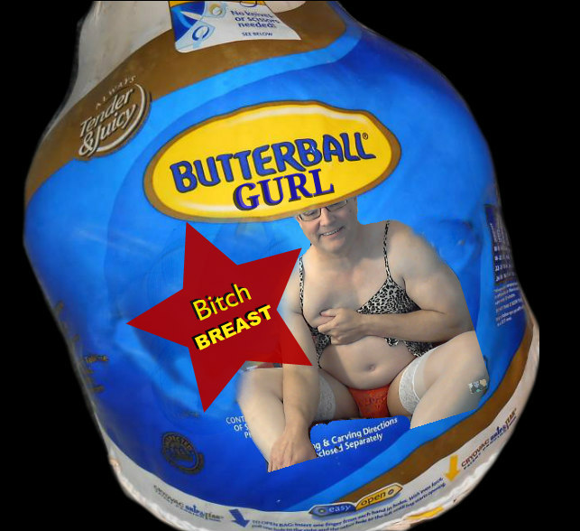 butterballgurl bitch breast