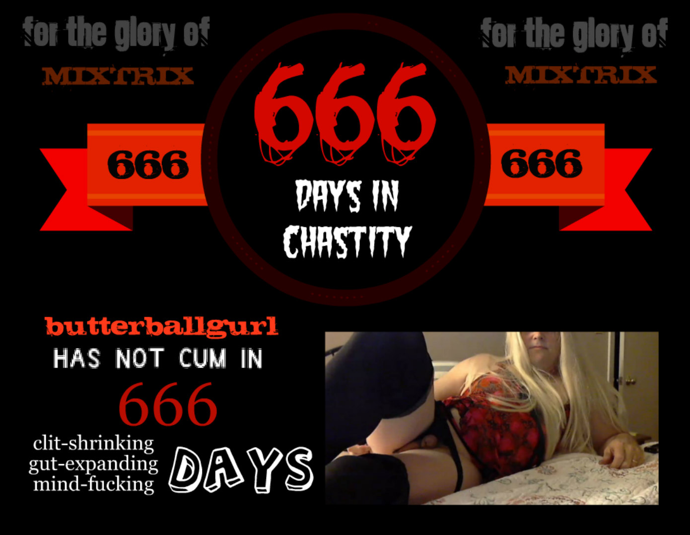 666 days without cumming