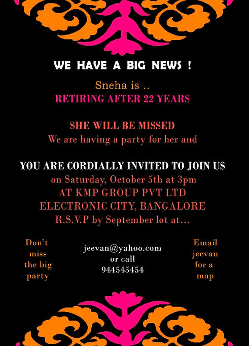 Doc1024682 Farewell Invitation Card Farewell Party Invitation – Invitation Card for Farewell Party