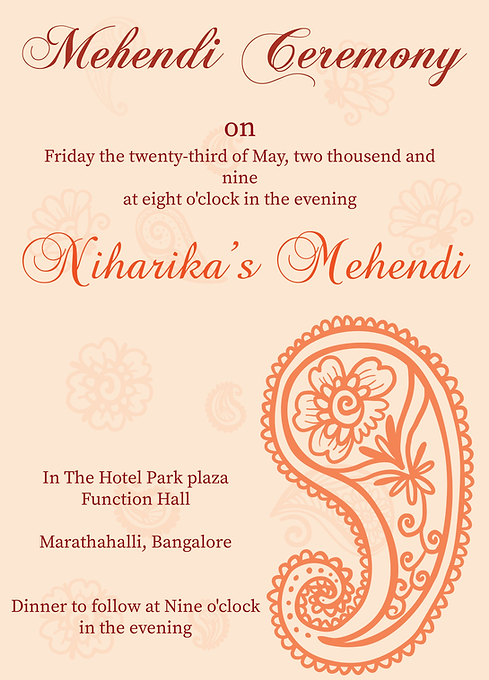 Invitation homes seattle garden view landscape invitation wording for mehndi party gallery invitation stopboris Gallery