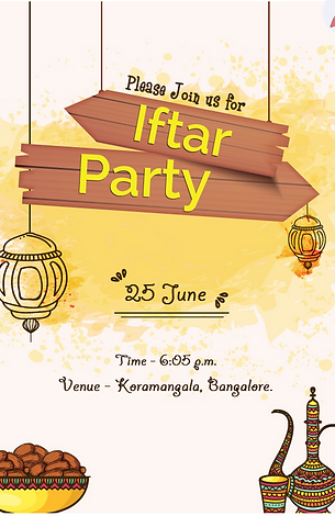 Eidiftar ramadan party invitation wordings online invitation stopboris Gallery