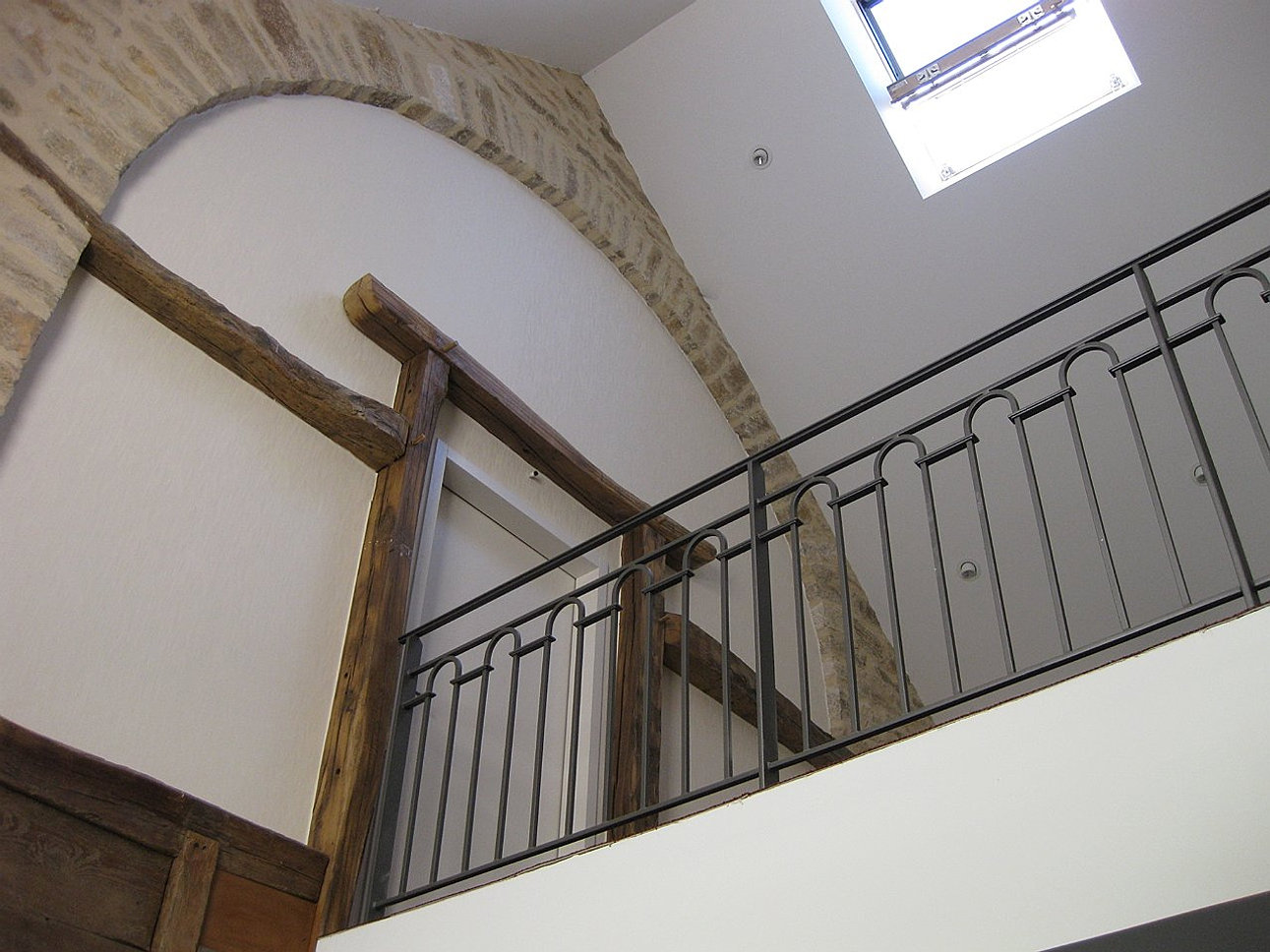 Jacquot architecture rehabilitation ancienne rotisserie for Architecture ancienne
