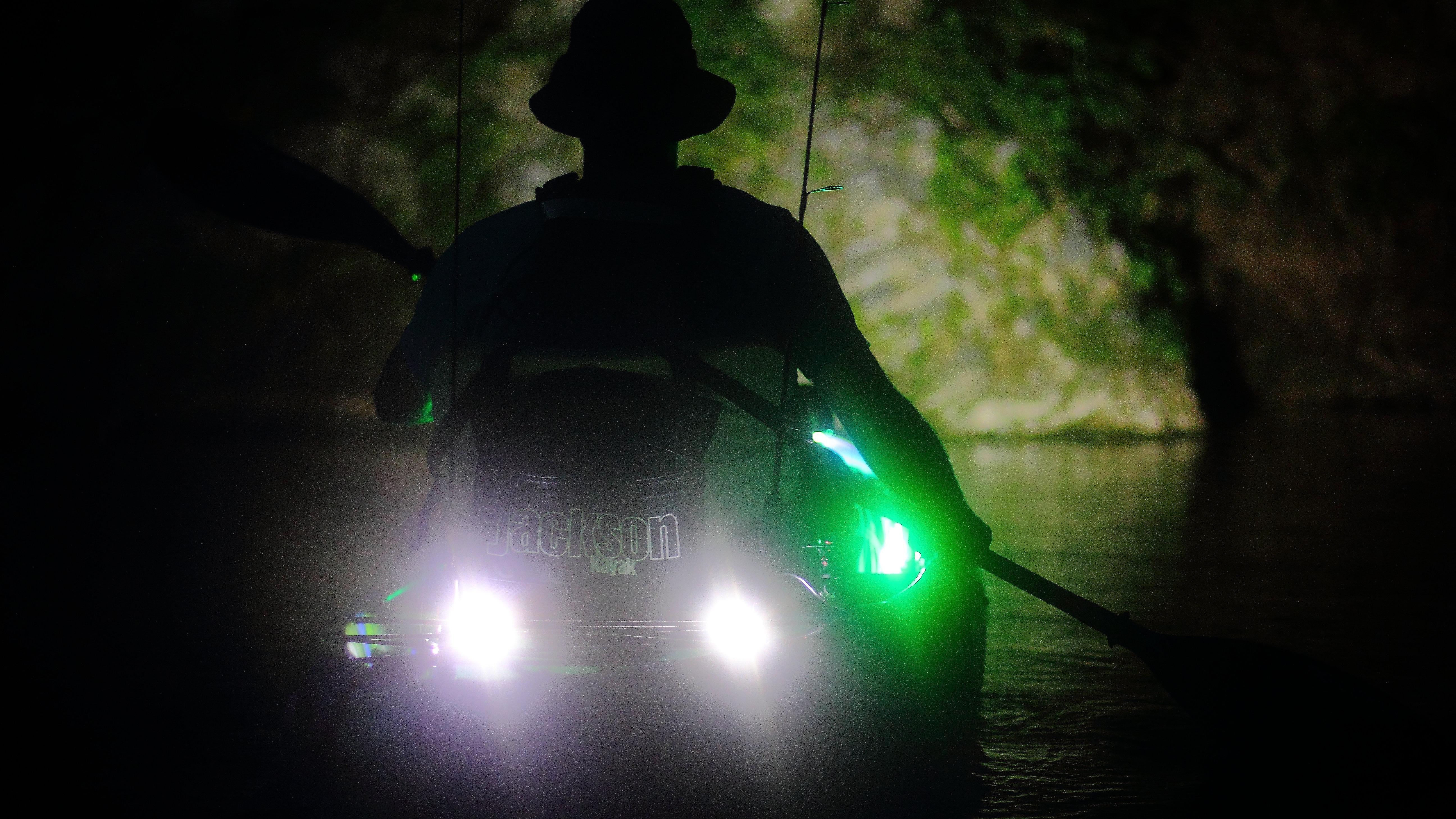 yak lights - waterproof led lights for fishing kayaks., Reel Combo