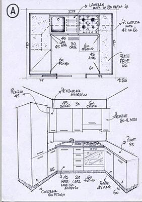 Cucine A Ferro Di Cavallo. Good Affordable Best Cucine Moderne ...