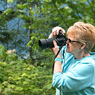 Julie H. Ferguson, travel writer and photographer.  © James S. Ferguson