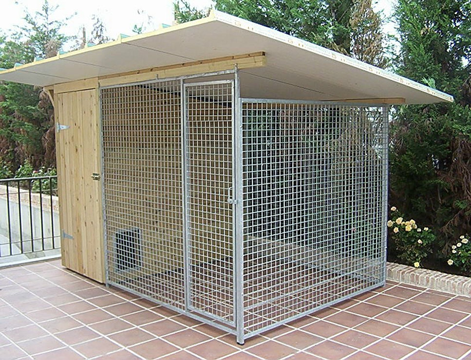 Residencia canina madrid maikan - Como hacer una caseta de obra ...