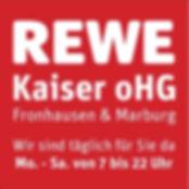 REWE Kaiser oHG Fronhausen Marburg