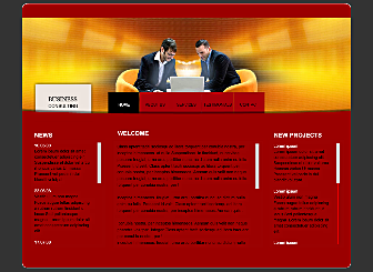 Attorney at Law Template - A Corporate  Website with a simple menu, that is easy to customize with your logo, and Perfectly suited to promoting your brand.